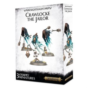 Games Workshop Age of Sigmar  Nighthaunts Crawlocke the Jailor & Chainghasts - 99120207060 - 5011921100828