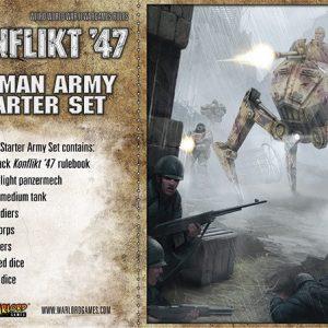Warlord Games Konflikt '47  Germany (K47) German K47 Starter Set - 451510201 - 5060393704218