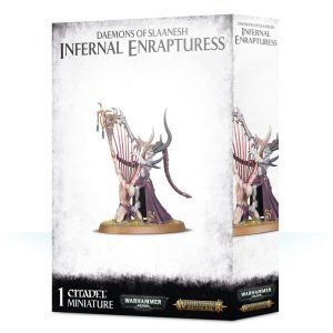 Games Workshop Warhammer 40,000 | Age of Sigmar  Chaos Daemons Daemons of Slaanesh Infernal Enrapturess - 99129915053 - 5011921114061