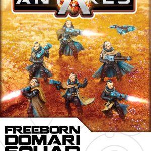 Warlord Games Beyond the Gates of Antares  Freeborn Freeborn Household Squad (Domari) - WGA-FRB-04 - 5060393702061