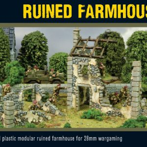 Warlord Games   Warlord Games Terrain Ruined Farmhouse - 802010004 - 5060572500006