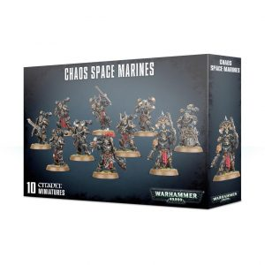 Games Workshop Warhammer 40,000  Chaos Space Marines Chaos Space Marines Squad - 99120102098 - 5011921114474