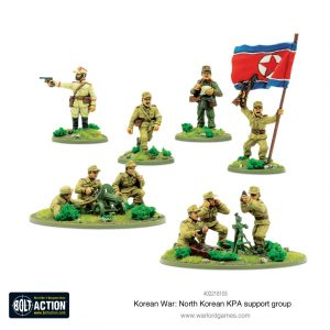 Warlord Games Bolt Action  Korean War (1950-1953) North Korean KPA Support Squad - 402218105 - 5060572503748