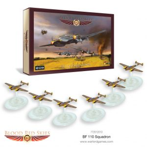 Warlord Games Blood Red Skies  Blood Red Skies Blood Red Skies: Bf 110 Squadron - 772012013 - 5060572502376