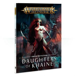 Games Workshop Age of Sigmar  Daughters of Khaine Battletome: Daughters of Khaine - 60030212007 - 9781788261524
