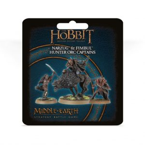 Games Workshop (Direct) Middle-earth Strategy Battle Game  Evil - The Hobbit The Hobbit: Narzug and Fimbul, Hunter Orc Captains - 99811462043 - 5011921137107