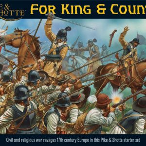 Warlord Games Pike & Shotte  Thirty Years War 1618-1648 Pike & Shotte: For King & Country - WGP-START-01 - 5060200844380