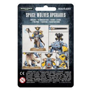 Games Workshop Warhammer 40,000  Space Wolves Space Wolves Upgrade Pack - 99070101064 - 5011921149087