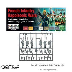 Warlord Games Black Powder  French (Napoleonic) French Napoleonic Paint Set (Vallejo) - VAL70164 -