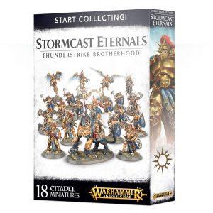 Games Workshop Age of Sigmar  Stormcast Eternals Start Collecting! Stormcast Eternals Thunderstrike Brotherhood - 99120218017 - 5011921079971