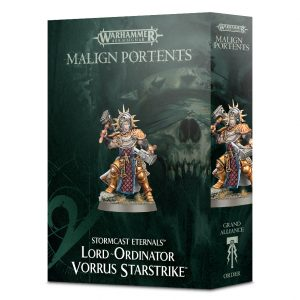 Games Workshop Age of Sigmar  Stormcast Eternals Lord-Ordinator Vorrus Starstrike - 99120218031 - 5011921098569
