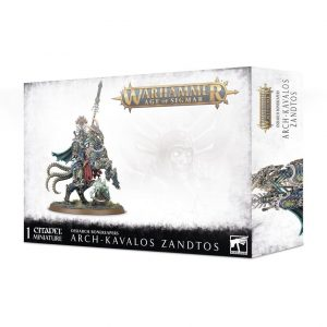 Games Workshop Age of Sigmar  Ossiarch Bonereapers Ossiarch Bonereapers Arch-Kavalos Zandtos - 99120207074 - 5011921126354