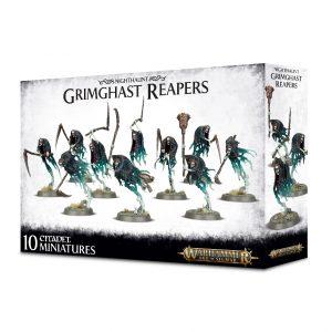 Games Workshop Age of Sigmar  Nighthaunts Nighthaunt Grimghast Reapers - 99120207065 - 5011921103638
