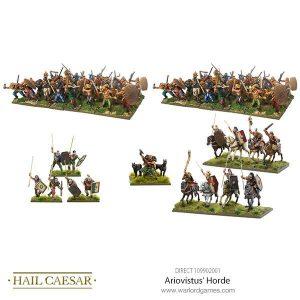 Warlord Games Hail Caesar  Germanic Tribes Ariovistus' Horde - 109902001 -