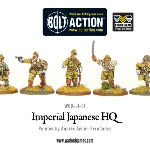 Warlord Games Bolt Action  Japan (BA) Imperial Japanese HQ - WGB-JI-31 - 5060200848784