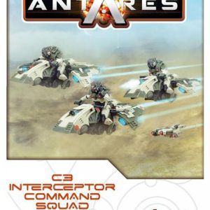 Warlord Games Beyond the Gates of Antares  PanHuman Concord C3 Interceptor Command - WGA-CON-502413001 -