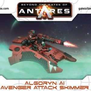 Warlord Games Beyond the Gates of Antares  Algoryn Algoryn Avenger Attack Skimmer - 502411002 - 5060393704614
