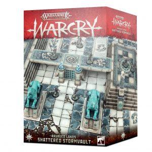 Games Workshop Warcry  Warcry Warcry: Shattered Stormvault - 99220299079 - 5011921127047