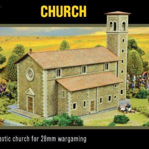 Warlord Games   Warlord Games Terrain Warlord Scenics: Church - 802010006 - 5060572501119