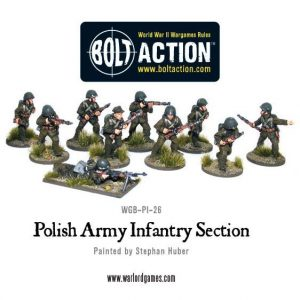 Warlord Games Bolt Action  Poland (BA) Polish Army Infantry Section - WGB-PI-26 - 5060200849620