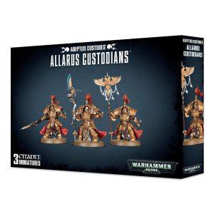Games Workshop Warhammer 40,000  Adeptus Custodes Adeptus Custodes Allarus Custodians - 99120108011 - 5011921094202