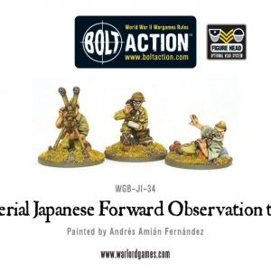 Warlord Games Bolt Action  Japan (BA) Imperial Japanese FOO team - WGB-JI-34 - 5060200845486