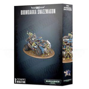 Games Workshop Warhammer 40,000  Orks Orks Boomdakka Snazzwagon - 99120103062 - 5011921107964