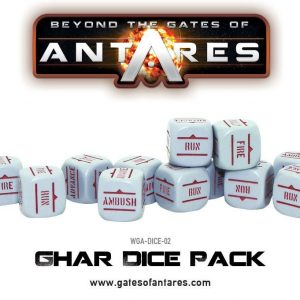 Warlord Games Beyond the Gates of Antares  Ghar Empire Ghar Dice Pack - WGA-DICE-02 - 5060393702504