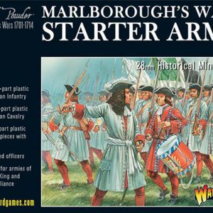 Warlord Games Black Powder  Marlborough's Wars Marlborough's Wars Starter Army - 302015001 - 5060393704621