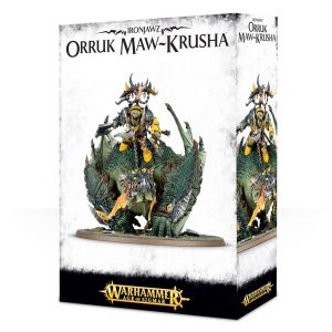 Games Workshop Age of Sigmar  Orruk Warclans Orruk Megaboss on Maw-krusha - 99120209032 - 5011921070299