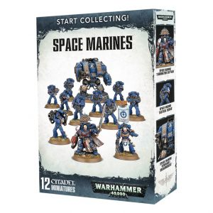 Games Workshop Warhammer 40,000  Space Marines Start Collecting! Space Marines - 99120101195 - 5011921088508