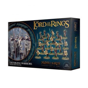 Games Workshop Middle-earth Strategy Battle Game  Evil - Lord of the Rings Lord of The Rings: Easterling Warriors - 99121464018 - 5011921109289