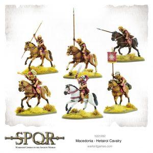 Warlord Games SPQR  SPQR SPQR: Macedonian Hetairoi Cavalry - 152212002 - 5060572504608