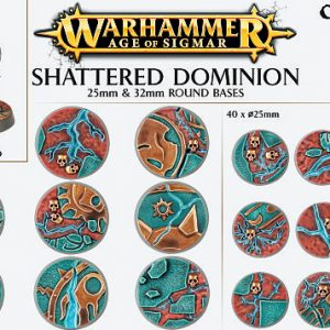Games Workshop   Games Workshop Bases Shattered Dominion (25mm & 32mm) - 99120299033 - 5011921073115