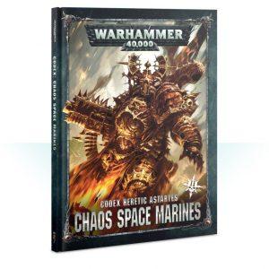 Games Workshop Warhammer 40,000  Chaos Space Marines Codex: Chaos Space Marines (2019) - 60030102020 - 9781788264679