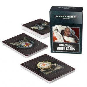 Games Workshop Warhammer 40,000  White Scars Datacards: White Scars - 60220101015 - 5011921125135