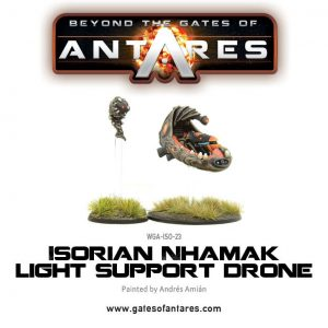 Warlord Games Beyond the Gates of Antares  Isorian Senatex Isorian Nhamak Light Support Drone - WGA-ISO-23 - 5060393703532