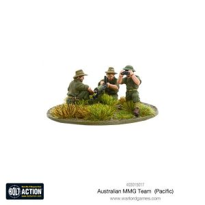 Warlord Games Bolt Action  Australia (BA) Australian MMG team (Pacific) - 403015017 - 5060393707448