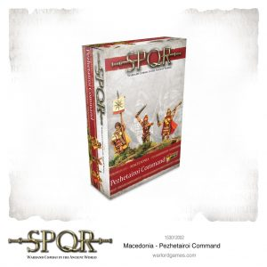 Warlord Games SPQR  SPQR SPQR: Macedonian Pezhetairoi Command - 153012002 - 5060572504639