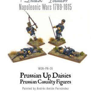 Warlord Games Black Powder  Prussians (Napoleonic) Prussian Landwehr Casualties - WGN-PRU-23 -