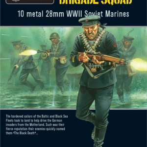 Warlord Games Bolt Action  Soviet Union (BA) Soviet Naval Brigade - WGB-RI-05 - 5060393700760