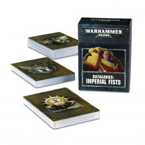 Games Workshop Warhammer 40,000  Imperial Fists Datacards: Imperial Fists - 60220101019 - 5011921126781