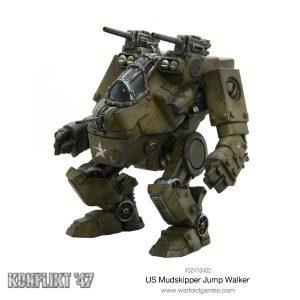 Warlord Games Konflikt '47  USA (K47) US Mudskipper Jump Walker - 452410402 - 5060393704805
