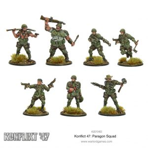 Warlord Games Konflikt '47  USA (K47) Konflikt '47 US Paragon Squad - 452010402 - 5060572502680