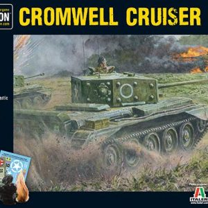 Warlord Games Bolt Action  Great Britain (BA) Cromwell Cruiser Tank (plastic) - 402011003 - 5060393700562