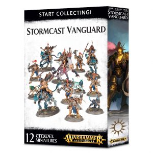 Games Workshop Age of Sigmar  Stormcast Eternals Start Collecting! Stormcast Vanguard - 99120218025 - 5011921088195