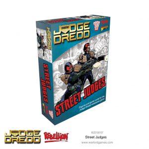 Warlord Games Judge Dredd  Judge Dredd Judge Dredd: Street Judges - 6522100107 - 5060572505216