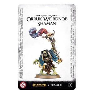 Games Workshop Age of Sigmar  Orruk Warclans Orruk Weirdnob Shaman - 99070209005 - 5011921070244