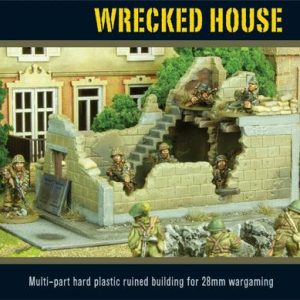Warlord Games   Warlord Games Terrain Wrecked House - WG-TER-46 - 5060393700555