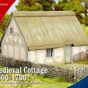 Warlord Games   Warlord Games Terrain Medieval Cottage 1300-1700 - RPB3 - RBB3